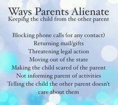 Strategies to Reunite Alienated Parents and Their Children