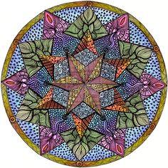 Theta Mandala 2 by Artwyrd.deviantart.com on @deviantART