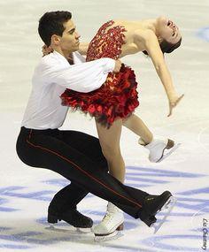 2013 European Championships Dance Practice : Anna Cappellini & Luca Lanotte (ITA)