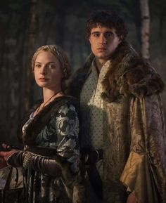 ELIZABETH WOODVILLE AND KING EDWARD IV / THE WHITE QUEEN