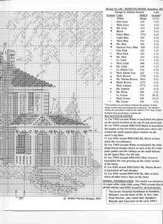 ru / Фото - Morton Home - mornela Cross Stitch House, Cross Stitch Charts, Cross Stitch Patterns, Cross Stitching, Cross Stitch Embroidery, Embroidery Patterns, Morton Homes, Victorian Cross Stitch, Old World Charm