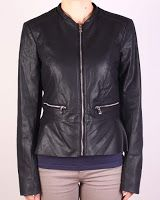 Geaca Zara Dama Celine Black (Zara) Celine, Zara, Leather Jacket, Black, Fashion, Studded Leather Jacket, Moda, Black People, La Mode