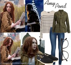 Amy Pond- the one companion I look like that has cool clothes :p