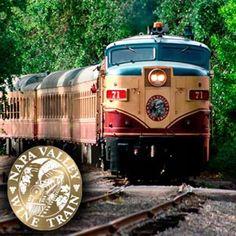 Napa Valley wine train: an amazing experience!