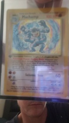 machamp 1st edition W/ STAMP 8/102 New in 1 touch Pokemon, Stamp, Touch, Ebay, Stamps
