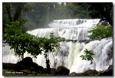 Tinuy-an Falls in Bislig Surigao del Sur, Philippines.