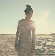 Vintage lace mauve WEDDING dress sheer feminine / bride / MIB /formal
