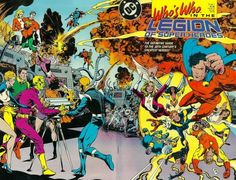 Who's Who The Legion Of Superheroes