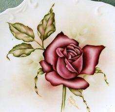 Pattern Packets - Rose On Porcelain - 38A - ROSE SUR PORCELAINE