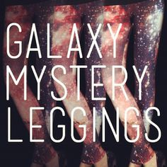 Galaxy Mystery Leggings Are So Hot Right Now! #GalaxyLeggings