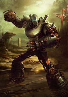 Fallout 3: Liberty Prime by Emortal982