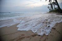 from my travels in Sri Lanka. Beach Waves, Sri Lanka, Building, Water, Travel, Outdoor, Gripe Water, Outdoors, Viajes