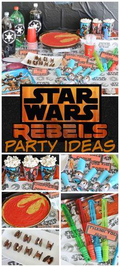 Star Wars Rebels Party Ideas | #BDayOnBudget