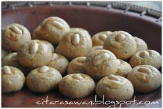Biskut Almond Crunchy Cookies | Resipi Citarasawan