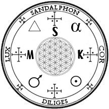 Posts about sandalphon archangel sigil written by SandalPhon Mystic Symbols, Occult Symbols, Symbole Protection, Angelic Symbols, Seal Of Solomon, Sacred Geometry Symbols, Black Angels, Mystique, Angels And Demons