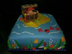 Piraten taart pirate cake