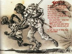 Japanese WWII rascist propaganda leaflet