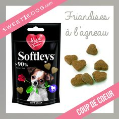 Biscuit coeur chien - Saint Valentin - chihuahua - www.sweetiedog.com