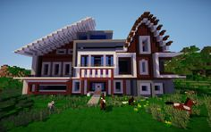 how to build a complicated horse barn mc