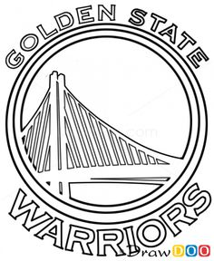 golden state warriors basketball coloring page  golden