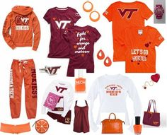 ShopStyle: VIRGINIA TECH <3 by lilmisschanel