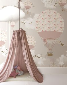 14 Pink Kids' Room Ideas - Petit & Small #smallkidsroomideas