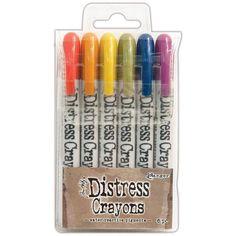 Tim Holtz Distress Crayon Set 2
