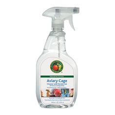 Aviary Cage Cleaner & Deodorizer by Earth Friendly Products  #crueltyfree #noanimaltesting