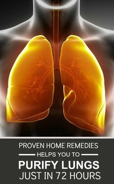 These Proven Home Remedies Helps You To Purify Your Lungs In 72 Hours ... Sleep Apnea, Asthma, Allergy relief