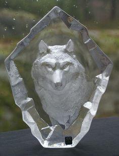 Mats Jonasson-Stor glass skulptur- ULV