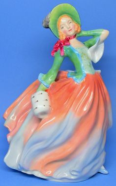 "Royal Doulton Figurine ""Autumn Breeze"" HN 1911 Leslie Harradine #RoyalDoulton"
