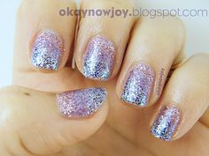 I nice gradient glitter look...