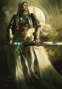 Fantasy - Elspeth Tirel by Michael Komarck [fighter, paladin]