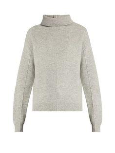 Joseph High-neck boiled-wool sweater