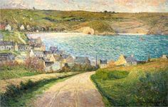 """Maxime Maufra (1861-1918), """"The Beach at Morgat"""""""