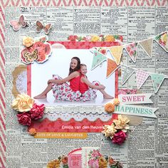 i'm so excited to share with you today my newest layout i made using the wonderful KAISERCRAFT collection TROPICAL PU. Scrapbook Patterns, Kids Scrapbook, Scrapbook Sketches, Scrapbooking Layouts, Scrapbook Paper, Single Pic, Picture Layouts, Layout Inspiration, Something To Remember