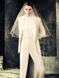 Marleen Gaasbeek for Elle Sweden May 2012 by Peter Gehrke