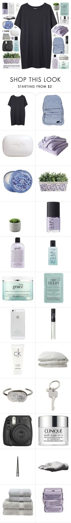 """""""you got me // testing taglist"""" by other-flying ❤ liked on Polyvore featuring Organic by John Patrick, Stussy, H2O+, Shabby Chic, The Body Shop, NARS Cosmetics, philosophy, Kocostar, Calvin Klein and Nimbus"""
