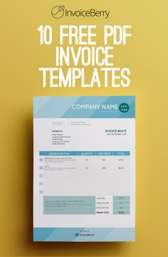 These new PDF templates will make your invoicing fun and easy Freelance Invoice Template, Invoice Design Template, Printable Invoice, Questionnaire Template, Small Business Bookkeeping, Business Tips, Business Planning, Business Labels, Business Templates