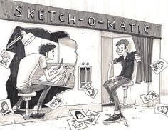 Sketch-O-Matic by Hammo