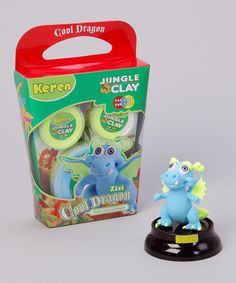 Take a look at this Zizi Shiny Eyes Cool Dragon Clay Kit by Yuka Paris on #zulily today!
