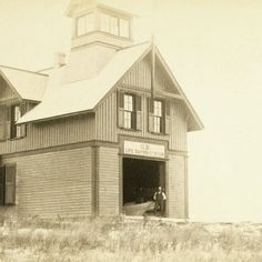 """5850c11ff42 Nantucket Historical Assoc. on Instagram  """" onthisdayinnantuckethistory in  1883 the Muskeget Life Saving Station was established. Muskeget is a tiny  island ..."""