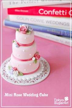 Indian Weddings Inspirations. Pink Mini Wedding Cakes. Repinned by #indianweddingsmag indianweddingsmag.com
