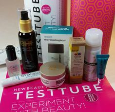 Bits and Boxes: New Beauty Test Tube January 2015 Review plus Get 30% Off! #newbeauty #newbeautytesttube #subscriptionbox #beautybox #bbloggers