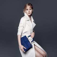 Jennifer Lawrence shines once again for Dior as she lends her allure to the latest leather goods campaign featuring the iconic 'Be Dior' bag which this season is full of animal-inspired motifs and bold color. Head to DIORMAG.com to discover all of the images. #itDior