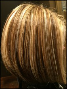 Layers of blonde tones