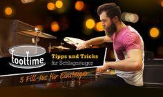 5 Fill-Ins, die jeder Schlagzeuger kennen sollte:: bonedo.de