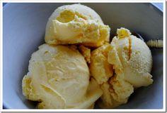 2-ingredient recipe for mango ice cream!