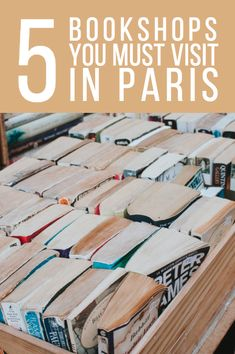 Five English Language Bookshops in Paris You Must Visit 5 Bookshops You Must Visit in Paris // Places for Book Lovers in Paris such as Shakespeare and Co, The Abbey Bookshop etc. Literary Travel, Travel Books, Travel Journals, Paris Travel Guide, Paris Tips, Travel Guides, Paris Shopping, Shopping Tips, Moving To Paris