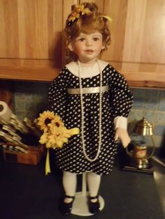 Kaye Wiggs Dawn porcelain doll